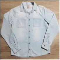 Camisa Jeans Hering - 12 anos - Hering Kids