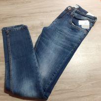 Calça Jeans Skinny - 16 anos - Marca não registrada