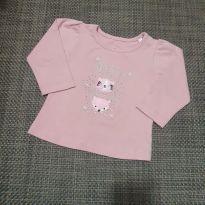 Camiseta rosa - 3 a 6 meses - Play