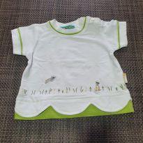 Camiseta de Coelhinho - 9 meses - Marca não registrada