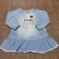Vestido Jeans - 1 ano - Planet Kids