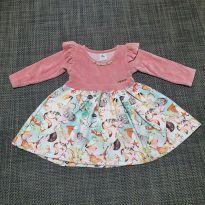 Vestido Bichinhos - 1 ano - Ale Kids