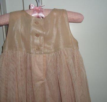 Vestido bege de festa da GAP - 12 a 18 meses - GAP