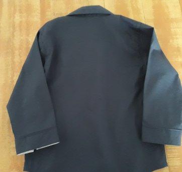 Camisa azul marinho da Camu Camu - 12 a 18 meses - Camú Camú