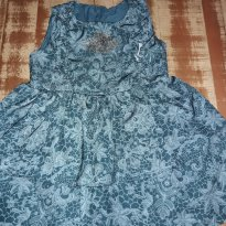 Vestido estampado de verde da Lilica Ripilica - 2 anos - Lilica Ripilica