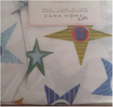 Funda Nordica estampada de azul (capa para edredom) - Sem faixa etaria - Zara Home Kids