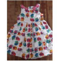 Vestido da Alphabeto com lacinhos rosa - 3 anos - Alphabeto