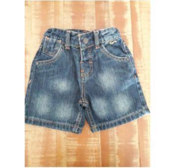 Bermuda Jeans tigor - 12 a 18 meses - Tigor T.  Tigre
