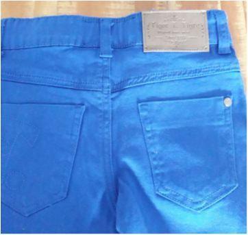 Calça azul da TIGOR - 4 anos - Tigor T.  Tigre