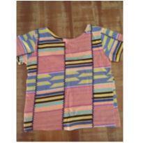 Blusa de malha estampada da Fábula - 6 anos - Fábula