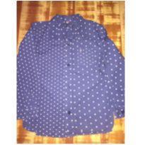 Camisa manga comprida estrelinhas - 4 anos - Tommy Hilfiger