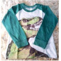 Camisa Manga Longa Dinossauro - 3 anos - Carter`s