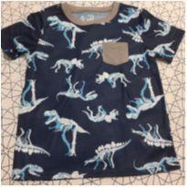 Camiseta Carters Dino - 8 anos - Carter`s