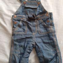 Jardineira jeans bebê - Recém Nascido - Kiabi Baby