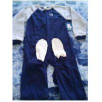 Macacão pijama  fleece - 7 anos - Gerber