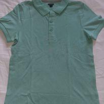 Camisa polo verde - 10 anos - Kiabi