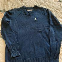 Suéter azul marinho - 8 anos - Malwee