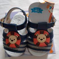 Sandália bebê leão - 14 - Não informada