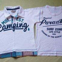 Lote Polo e Camiseta Marisol e Mineral - 3 anos - Marisol e Mineral Kids