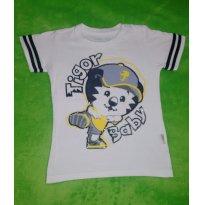 Camiseta Branca Tigor T Tigre Baby - 3 anos - Tigor T.  Tigre