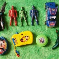 Lote de brinquedos - Sem faixa etaria - Não informada