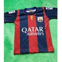 Camiseta Time Barcelona Messi - 3 anos - Não informada