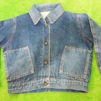 Jaqueta Jeans - 4 anos - Não informada