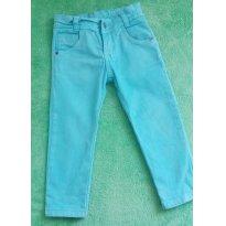 Calça Color Verde Agua - 3 anos - Não informada