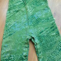Macacão verde da Green - 9 a 12 meses - Green