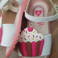 Sandália Molekinha Cupcake - 20 - Molekinha
