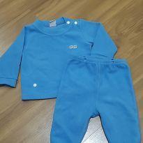 Pijama Tip Top azul - 3 a 6 meses - Tip Top
