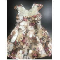 Vestido de ursinhos - 3 anos - Pituchinhus