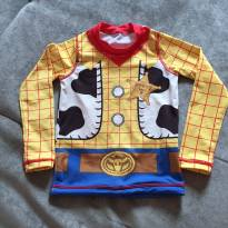 Camisa proteção solar UvLine Woody - 12 a 18 meses - Uv line