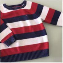 Sueter Listrado – Tommy - 12 a 18 meses - Tommy Hilfiger