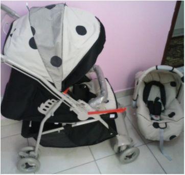 Carrinho e Bebê conforto   - Unissex - Sem faixa etaria - Galzerano