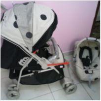 Carrinho e Bebê conforto   - Unissex -  - Galzerano