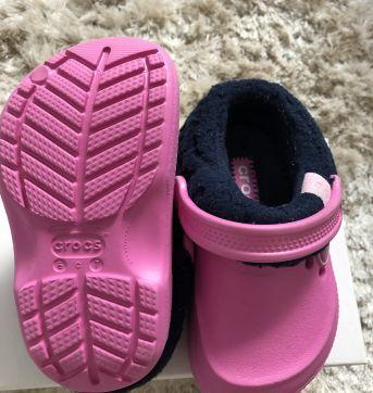 Crocs infantil forrado - 24 - Crocs