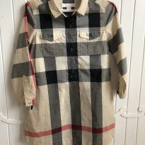Vestido Burberry - 5 anos - Burberry