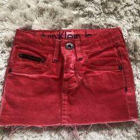 Saia Calvin Klein Jeans - 2 anos - Calvin Klein