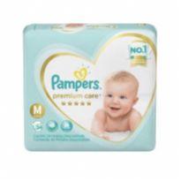 Fralda pampers premium care M -  - PAMPERS