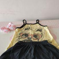Conjutinho cachorrinho fashion ❤️❤️ - 2 anos - Fashion Kids Brasil