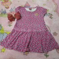 Vestido de coraçãozinho ❤️ - 3 anos - Kyly