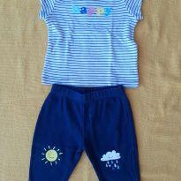 Conjunto Happy - 6 meses - Carter`s