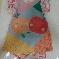 Vestido das frutinhas - 6 a 9 meses - Le Petit