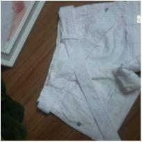 Shorts Tip Top branco - 12 a 18 meses - Tip Top