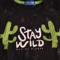 Camiseta Cactus - 1 ano - Importada