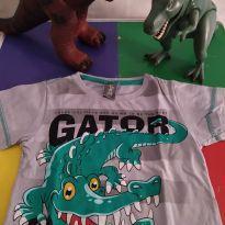 Camiseta Jacaré - 1 ano - Kyly