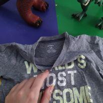 Camiseta cinza - 18 meses - Carter`s