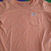 Camiseta Laranja Neon - 18 meses - Carter`s