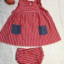 Vestido Baby Gap c/ calcinha - 6 a 9 meses - Baby Gap